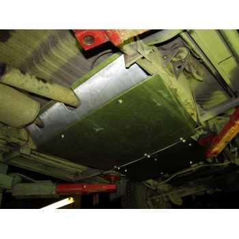 Blindage bv + bt acier 2,5 mm Nissan GR Y60 1997-2000