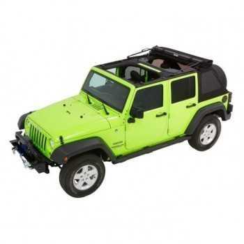 Capotage Bestop® trektop nx glide noir Jeep Wrangler JK 2007-2018