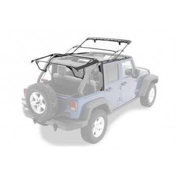 Armature métallique pour capotage origine Jeep Wrangler JK 2007-2018 4 portes