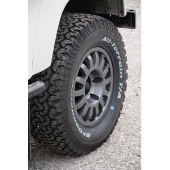 Jante DAKAR renforcée grise 7X16 Land Rover Defender 90-110-130