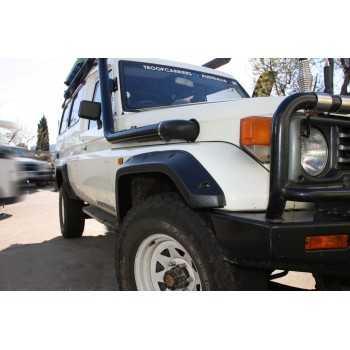 Elargisseurs d'ailes Toyota land Cruiser BJ 70-71-73-74-75-78 1983-1996