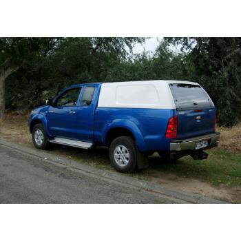 Hard top POLYBOY sans vitres Toyota Hilux Xtracab 2005-2015