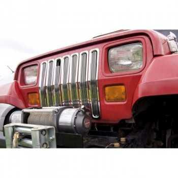 Enjoliveur de calandre jeep Wrangler YJ