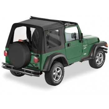 Capotage Bestop® sunrider noir Jeep Wrangler TJ 97-02
