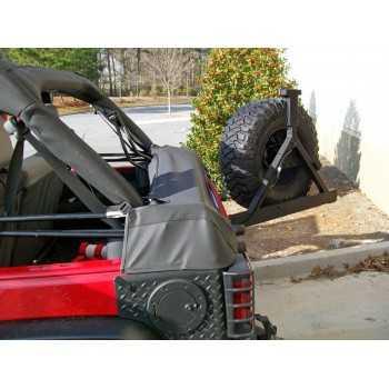 Housse de protection de bâche Jeep Wrangler JK 2007-2018 2 portes