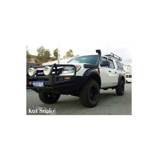 Elargisseurs d'ailes pour Ford Ranger PJ/PK - 70 mm large