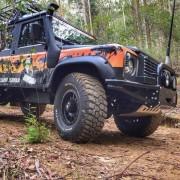 Elargisseurs d'ailes pour Land Rover- 95 mm large