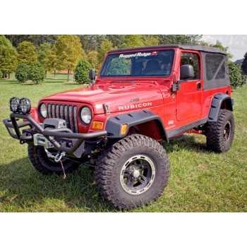 Elargisseurs d'ailes Jeep Wrangler 1997-2006 6 pièces