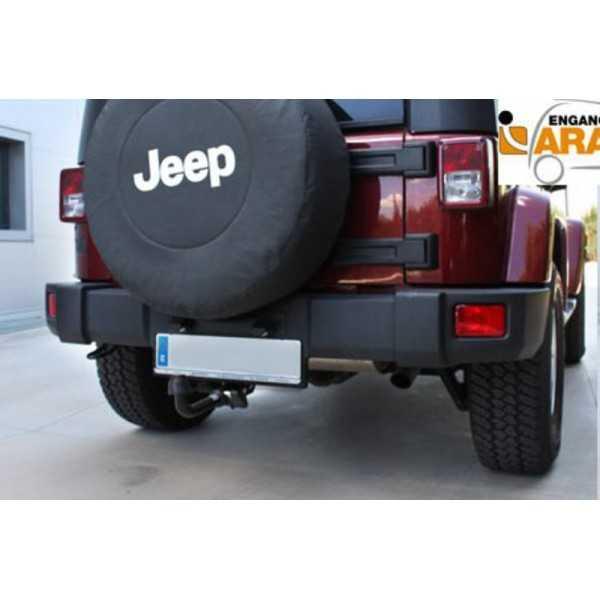 Attelage Jeep Wrangler JK 2007-