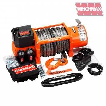 Treuil WINCHMAX 7.692 Kg 24 Volts avec corde synthétique