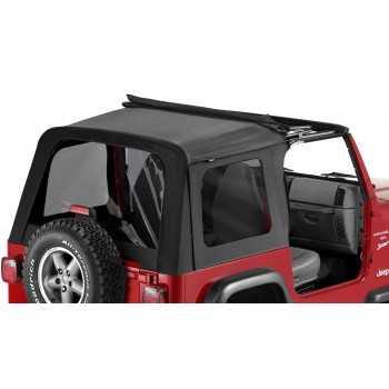 Capotage sunrider Bestop® noir Jeep Wrangler TJ 03-06