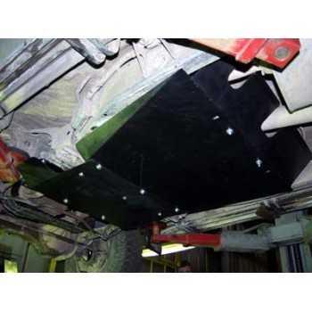 Blindage bv+bt aluminium Nissan GR Y61 05/2000+