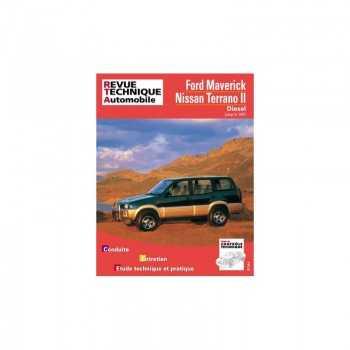 Revue technique Nissan terrano II jusqu'à 1997