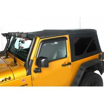 Capotage de remplacement RUGGED RIDGE noir Jeep Wrangler JK 2 Ptes DE 2010-2018