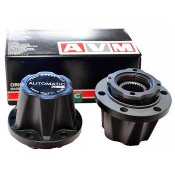 Jeu de moyeux debrayable automatique Mitsubishi L200 1992-2005 - Pajero V20- Hyundai Galloper 1991-