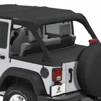 Tonneau cover Bestop® noir Jeep Wrangler JK 2007-2018 4 portes