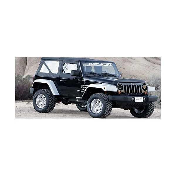 Elargisseurs d'ailes Jeep Wrangler JK  2007-2018