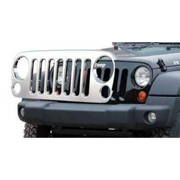 Calandre inox Jeep Wrangler JK 07/2007-