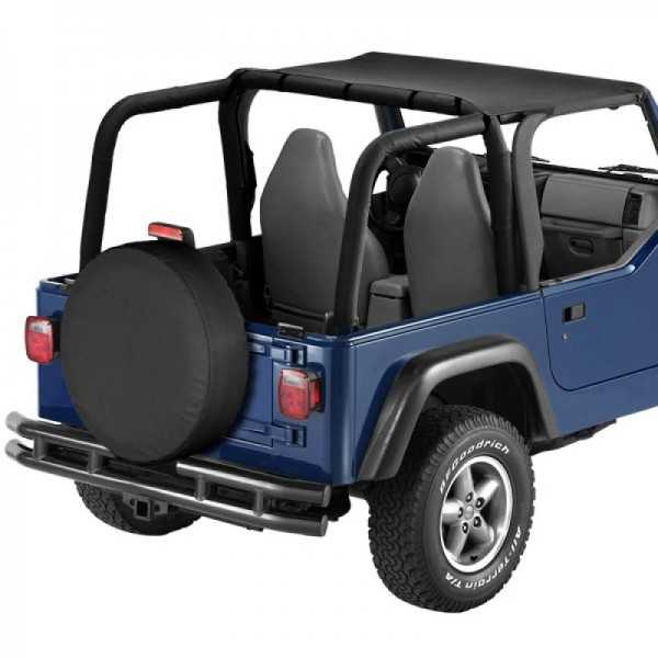 Bikini® Tops noir Jeep Wrangler 97-02