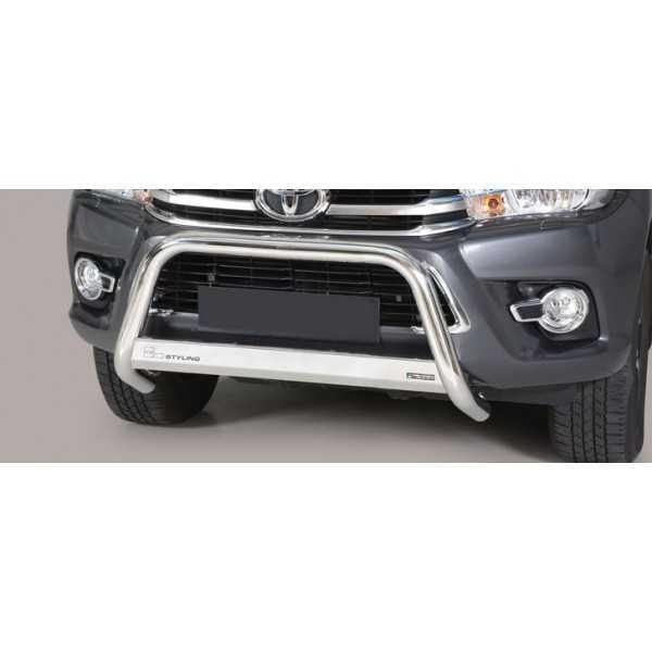 Medium bar inox 63 mm Toyota Hilux Revo 2016+