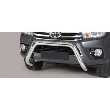 Super bar inox 76 mm Toyota Hilux Revo 2016+