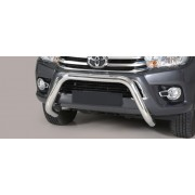 Super bar inox 76 mm Toyota Hilux Revo 2016+
