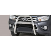 Big bar inox 63 mm Toyota Hilux Revo 2016+