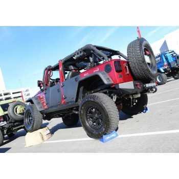 Jeu de demi-portes avant  Jeep Wrangler JK 2007-2018