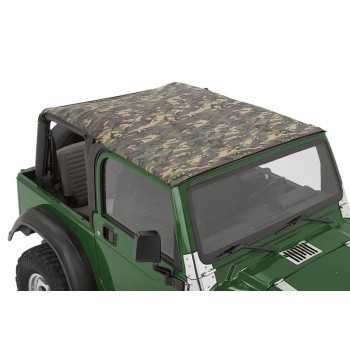 Bikini® Tops gris camouflage Jeep Wrangler TJ 2003-2006