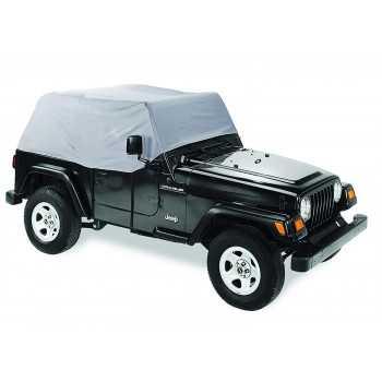 Housse extérieur grise Jeep Wrangler 1992-1995