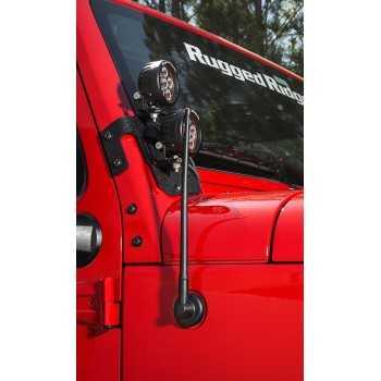 Antenne caoutchouc Jeep Wrangler TJ et JK de 1997 à 2018
