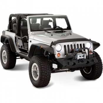 Elargisseurs d'ailes BUSHWACKER Jeep Wrangler JK 07-18