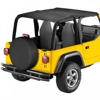 Bikini® Tops SAFARI noir Jeep Wrangler 1997-2002