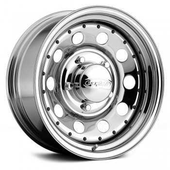 Jante acier bandit chromèe 7x16 Toyota série 4-6-7-8-9-12-15 Hilux Runner - Isuzu D-Max - Ford Ranger - Pajero K90 - L200 K74...