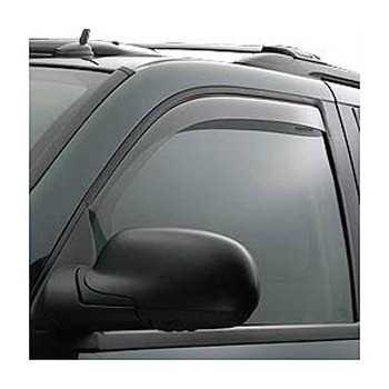 Deflecteur de porte avant Nissan Navara D40 2005+ 4 Portes