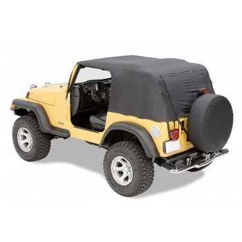 Bache PAVEMENT ENDS de secours Jeep WranglerTJ 97-06