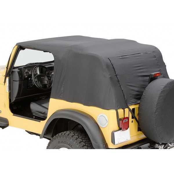 Bache PAVEMENT ENDS de secours Jeep Wrangler JK 07-18