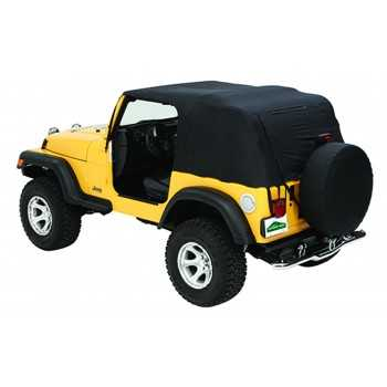 Bache PAVEMENT ENDS de secours Jeep Wrangler YJ 92-95