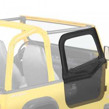 Haut de portes Bestop® noir Jeep Wrangler YJ 1988-1995