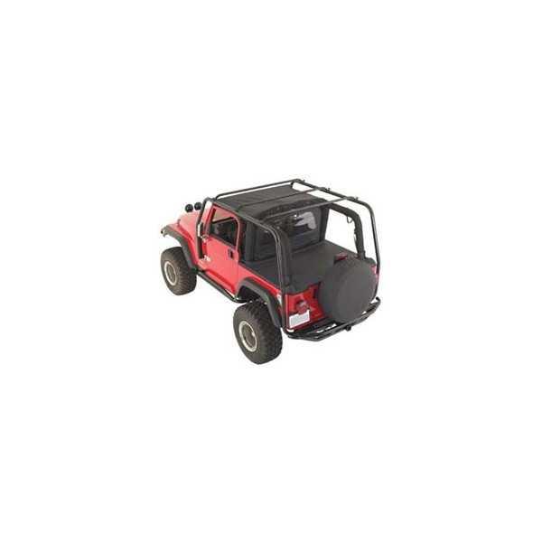 barre de toit jeep wrangler 1987 1995 cash 4x4 equipements. Black Bedroom Furniture Sets. Home Design Ideas