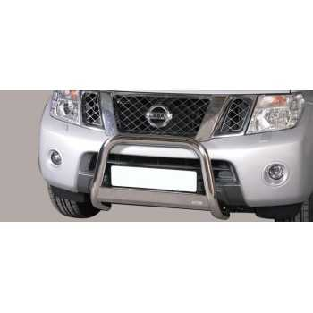 Medium bar inox 63 mm Nissan Navara 2010+