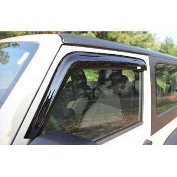 Deflecteur de porte avant Jeep Wrangler JK 2007-2018 2 portes
