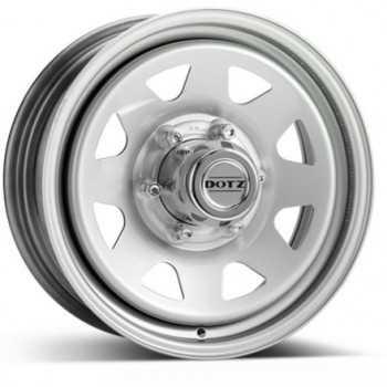 Jante acier DOTZ DAKAR grise 7X16 Toyota Hilux Vigo-Isuzu D-Max