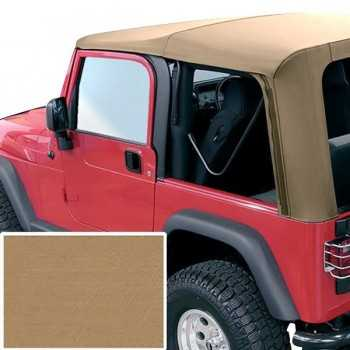 Capotage de remplacement RUGGED RIDGE marron Jeep Wrangler TJ 1997-2002