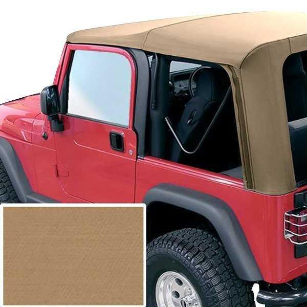 Capotage de remplacement RUGGED RIDGE marron Jeep Wrangler TJ 1997-2002