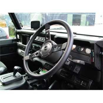 Volant vinyl noir diamètre 38 CM Spécial Land Rover