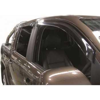 Déflecteur de porte Nissan Navara D40 2005-2009 4 portes