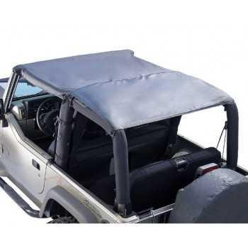 Bikini Island TOPPERS noir denin Jeep Wrangler TJ 1997-2006