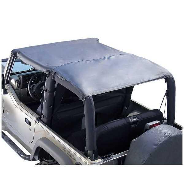 Bikini Island TOPPERS noir denin Jeep Wrangler 97-06