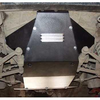 Blindage moteur acier Lada Niva 2008-2015